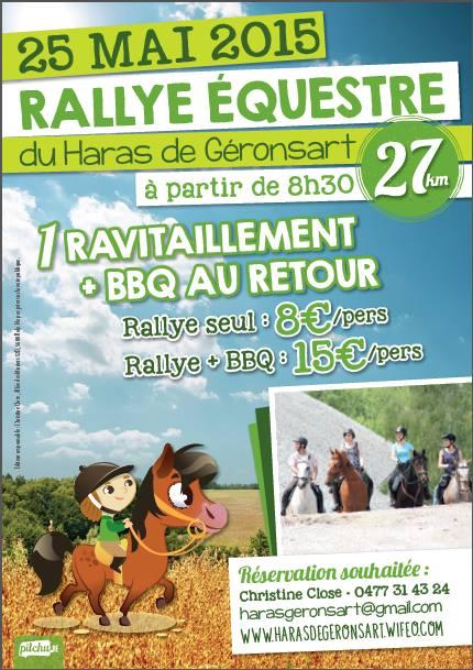 Rallye équestre